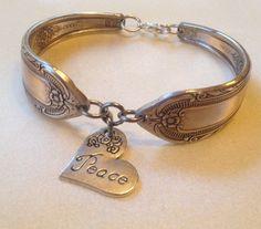 Beautiful Handcrafted Silverware Jewelry by MarshaMarshaDesigns, $21.00