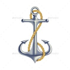 Anchor Color Isolated Object