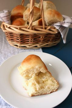Buttery dinner rolls. Soft, slightly sweet, and easy to make.