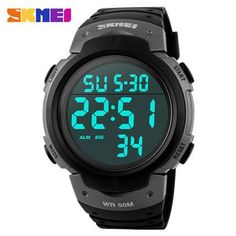 Cheap sport glove, Buy Quality sports hoop hula hoop directly from China sports crack Suppliers: Watches Men Skmei Luxury brand LED Digital Watch reloj hombre Army Military Outdoor Sport wristwatch relogio masculino Rugged Style, Digital Sports Watch, Digital Watch, Mens Sport Watches, Watches For Men, Army Watches, Popular Watches, Cartier, Tactical Watch