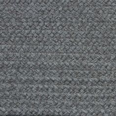 Colonial Braided Rug Co - Solid Dove Gray Braided Rug, $59.70 (http://www.colonialrug.com/solid-dove-gray-braided-rug/)