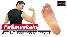 Plattfuß Senkfuß usw. - Fußmuskulatur stärken und u.a. Knieschmerzen bes...