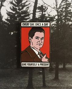 #Repost @pinlord  Agent Dale Cooper pin from me @pinlord  Every day once a day give yourseld a present! We need it these days... Buy it through my @pinlord link in bio!    (Posted by https://bbllowwnn.com/) Tap the photo for purchase info.  Follow @bbllowwnn on Instagram for the best pins & patches!