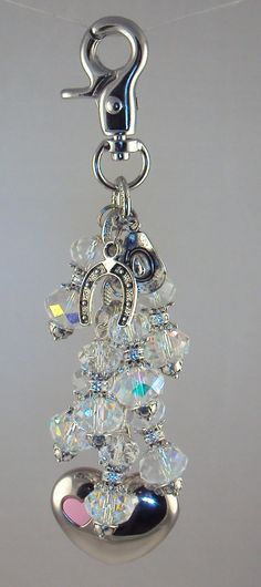 Western themed purse light with horse shoe and hat by Diva Dangles at www.divadangles.com