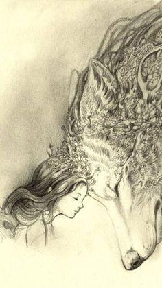 the-clockmakers-daughter: - divine illustration ?name of illustrator
