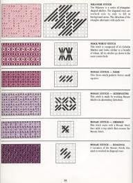 Common Plastic Canvas Stitches - Buscar con Google                                                                                                                                                                                 Más