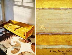 Farbe Ocker kombinieren – Goldocker Farbe des Jahres 2016 im ...