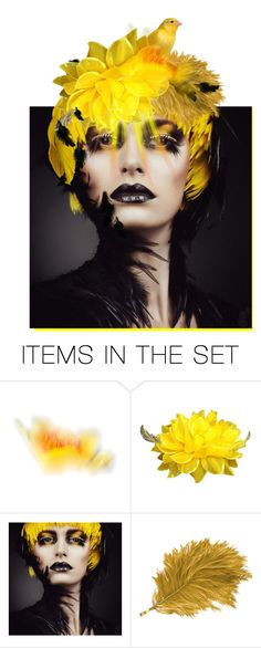 """""""canary in a coal mine"""" by beggarmagiktoo ❤ liked on Polyvore featuring art"""