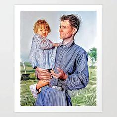 Sugarcane Farmer & Daughter, New Iberia, Louisiana 1938 (uncaptioned) Art Print Colorized History, New Iberia, Farmer's Daughter, Meet The Artist, Mix N Match, Buy Frames, Louisiana, Printing Process, Art Prints