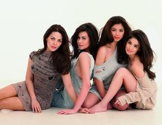 KC Concepcion, Bea Alonzo, Angel Locsin and Anne Curtis.