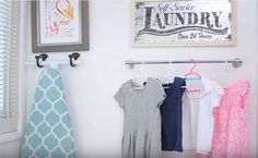Less time doing laundry and more timing doing, well, anything else: that's the goal of these mind-blowing laundry hacks from the YouTubers at WhatsUpMoms.