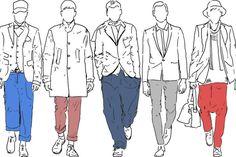 Figurtypen männer Figurtypen Männer