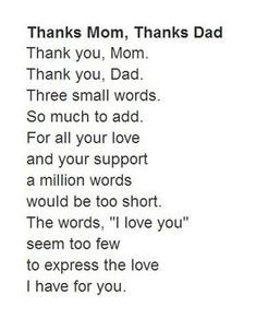 Birthday quotes for mom from daughter poems love you 66 ideas - - Birthday quotes for mom from daughter poems love you 66 ideas Poems for mom Birthday quotes for mom from daughter poems love you 66 ideas Parents Day Quotes, Parents Quotes From Daughter, Thank You Mom Quotes, Anniversary Quotes For Parents, Mom And Dad Quotes, Daughter Poems, Family Quotes, Happy Parents, Anniversary Pictures