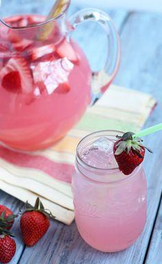 Hippie Juice ~ An EASY, lower calorie version of Hippie Juice using Crystal Light Pink Lemonade