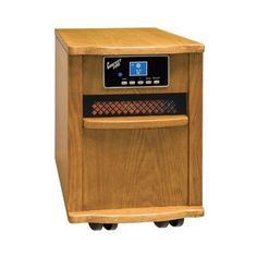Special Offers - 5 120 BTU Output Infrared Quartz Heater 1500 Watts in Oak - In stock & Free Shipping. You can save more money! Check It (April 14 2016 at 02:22PM) >> http://ceilingfansusa.net/5-120-btu-output-infrared-quartz-heater-1500-watts-in-oak/