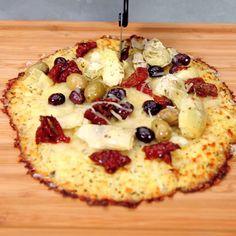 Cauliflower Pizza Crust   MyRecipes.com
