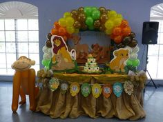 L & O Party  's  Baby Shower / Baby Lion King - Photo Gallery at Catch My Party.