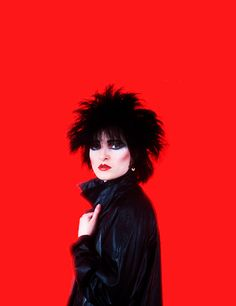 Siouxsie Sioux photographed by Lynn Goldsmith, 1980