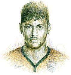 Портреты в стиле каракули от Ингравалле - Global Football - Блоги - Sports.ru