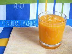 Da Panela para o Coração : Detox cenoura e manga