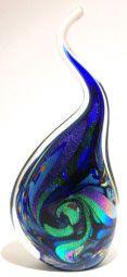 Art glass sculptures - glass art from Kela's Gallery