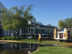The Charlevoix Country Club had to shut down today following a fire.  According to the club's Facebook page, the fire started in the kitchen. Everyone made it out safely, and the Country Club's Clu...