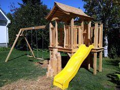 Ludo, Park, Simple, Swing Set Plans, Furniture Plans, White Cedar, Parks