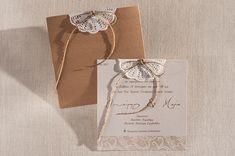 Προτασεις για chic vintage προσκλητηρια γαμου | Biniatian  See more on Love4Weddings  http://www.love4weddings.gr/chic-vintage-wedding-invitations/