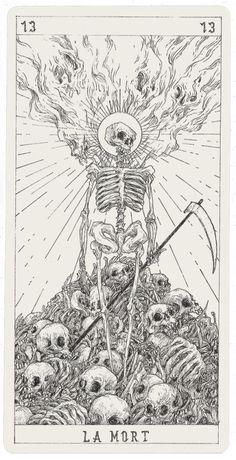 Vintage Tarot Cards, Witchy Wallpaper, Tarot Tattoo, Death Art, Esoteric Art, Dark Art Drawings, Arte Horror, Ink Illustrations, Grafik Design