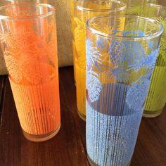 Vintage Iced Tea Glasses MidCentury Glassware Starlyte Glass Set | Pottery & Glass, Glass, Glassware | eBay!