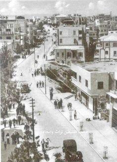 Haifa city 1934 Palestine