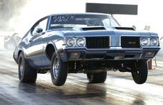 Dick Miller's 1970 Olds W-31.