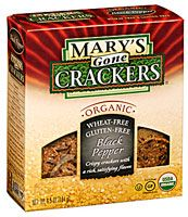 Mary's Gone Crackers Original Seed Crackers Black Seed-One of the few crackers with nutrition and whole grains!!!