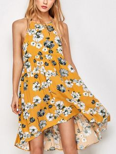 SHARE & Get it FREE | Mini Smock Sleeveless Floral DressFor Fashion Lovers only:80,000+ Items • New Arrivals Daily Join Zaful: Get YOUR $50 NOW!