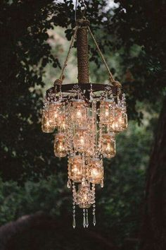 34 beautiful diy chandelier ideas that will light up your home diy 50 budget friendly rustic real wedding ideas diy chandelierhomemade mozeypictures Image collections