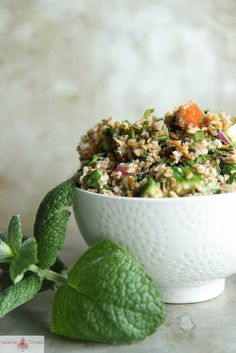 tabbouleh salad by Heather Christo