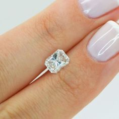 Radiant Shape Real Loose Diamond 1 Carat F VVS2 Enhanced For Engagement Ring #MyDiamonds