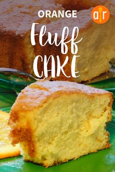 Super easy orange cake recipe, just put all the ingredients in the blender and blend them away, that's how easy this recipe is :) . A very fast recipe to prepare with no time at all. Baking Recipes, Cake Recipes, Dessert Recipes, Food Cakes, Cupcake Cakes, Cupcakes, Fluff Cake Recipe, Bolo Normal, Creamsicle Cake