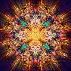 Mandala - Om Mani Padme Hum by Jalai Lama Mandala Art, Chakras, Art Du Monde, Meditation, Om Mani Padme Hum, Mystique, Visionary Art, Psychedelic Art, Fractal Art