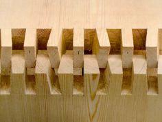 Teufelszinken japanische Holzverbindung