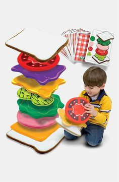 A fun game that involves making a sandwich fit for a giant. | 23 Impossibly Fun Gifts For Kids That Even Adults Will Want