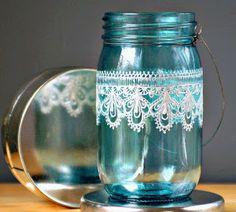 Fika a Dika - Por um Mundo Melhor: Potes de Vidro Reciclado