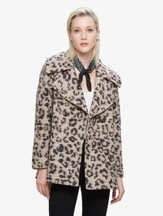 Karina Coat Leopard