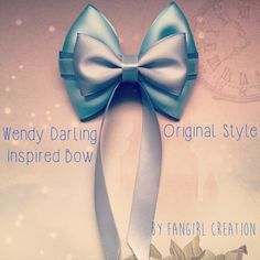 The Wendy Darling Inspired Bow