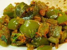 Chicken and green pepper curry recipe