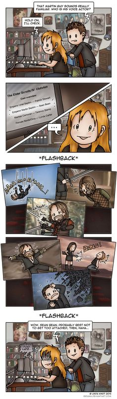 Oblivion: The Curse of Sean Bean by Isriana on DeviantArt