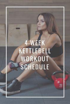 Kettlebell Workout Schedule | No gym workouts | Kettlebell challenge