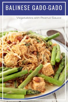Balinese Gado Gado recipe for those hot summer nights! Gado Gado is a popular Balinese recipe for mixed vegetables in a delicious peanut sauce. It makes a yummy vegetarian dish which will remind you of your last Balinese holiday. #Thermomix #Balinese #Gadogado #Vegetarian via @thermokitchen