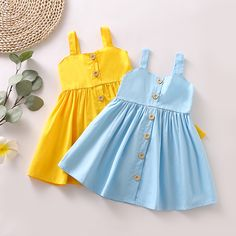 Kids Dress Wear, Kids Outfits Girls, Little Girl Outfits, Toddler Girl Dresses, Toddler Girls, Toddler Hair, Baby Dresses, Toddler Outfits, Baby Girls