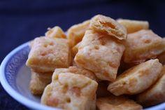 Homemade Artisanal Cheese Cracker